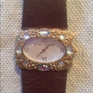 Authentic Betsy Johnson watch